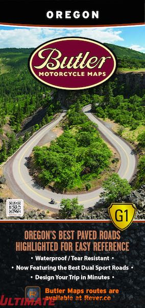 Butler Maps Releases Oregon Motorcycle Edition