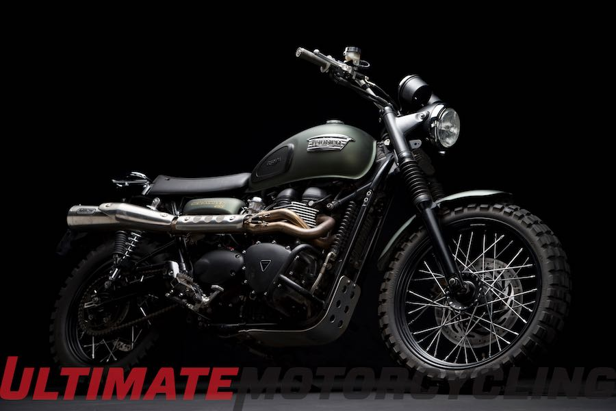 Chris Pratt Jurassic World Triumph Scrambler | eBay Auction