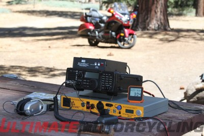 Moto DX Safari – Ham Radio Camping Via Honda Gold Wing