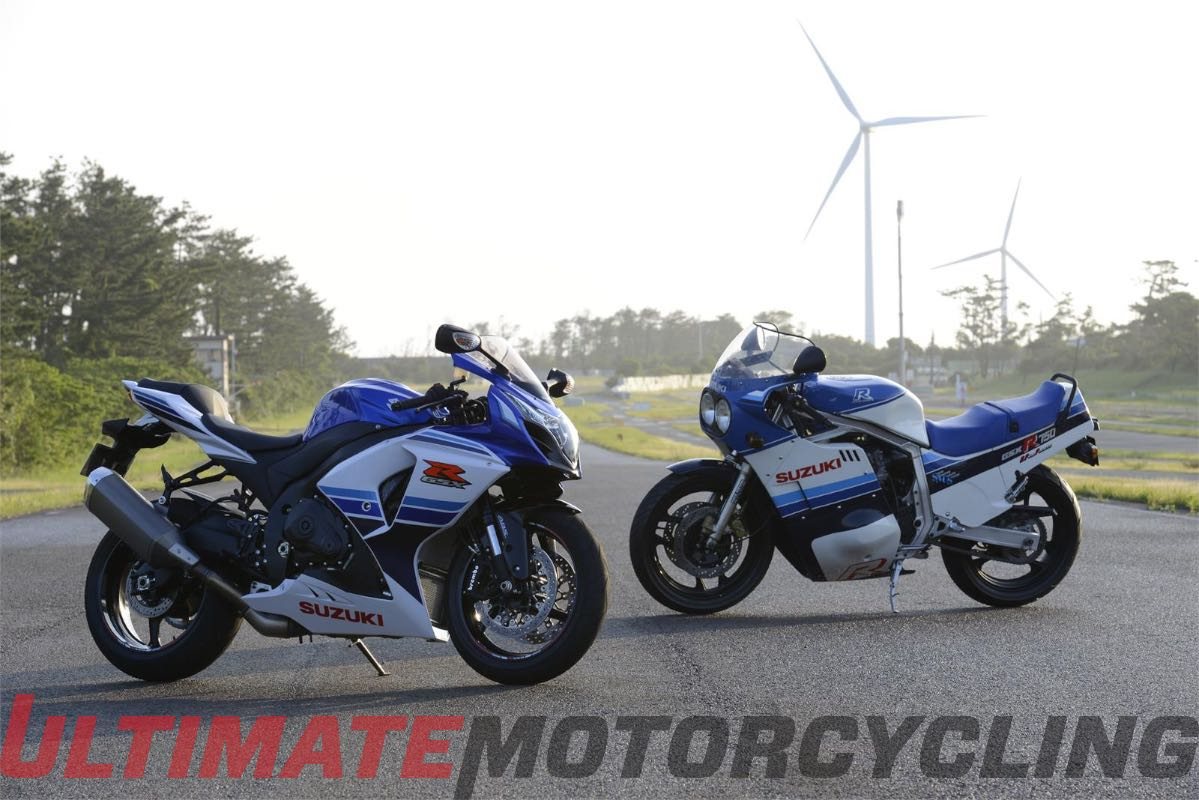 Suzuki GSX-R1000 30th Anniversary Unveiled | Photos