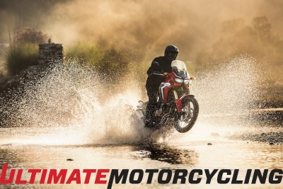 2016 Honda Africa Twin Specs & Gallery Water Crossing