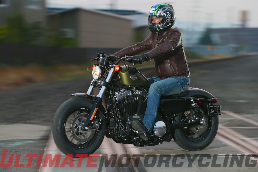 2016 Harley-Davidson Forty-Eight Review | Updated Sportster left