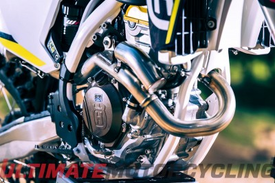 2016 Husqvarna FC 350 Review | First Ride Test engine