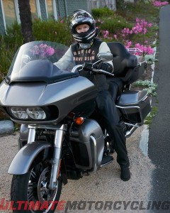 Harley-Davidson Rallyrunner Jacket Test on Road Glide