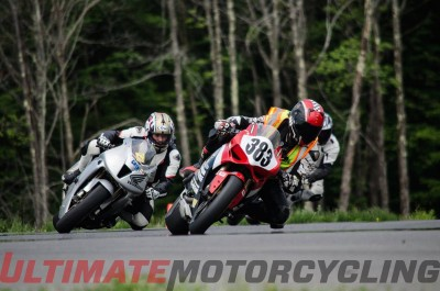 Ron Lieback Chases Ducati at NYST