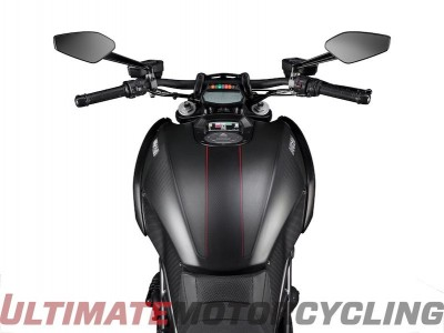 2016 Ducati Diavel Carbon gas tank