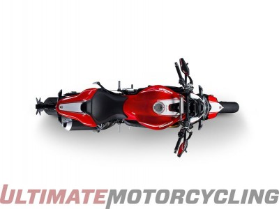 Ducati Monster 1200 R Red top