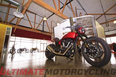 Arch Motorcycle Company KRGT-1 at studio