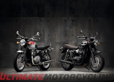 2016 Triumph Bonneville T120 & T120 Black - Preview