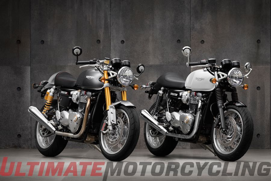 2016 Triumph Thruxton & Thruxton R | Preview