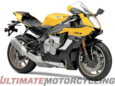 2016 Yamaha R1 60th Anniversary Yellow