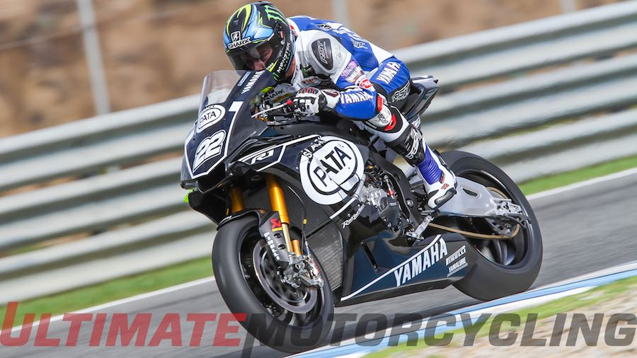 Alex Lowes: Early Exit From Final Jerez Yamaha SBK Test
