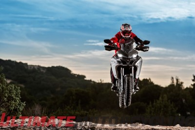 2016 Ducati Multistrada Enduro suspension