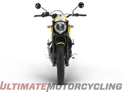 Ducati Scrambler Flat Track Pro LED lighting