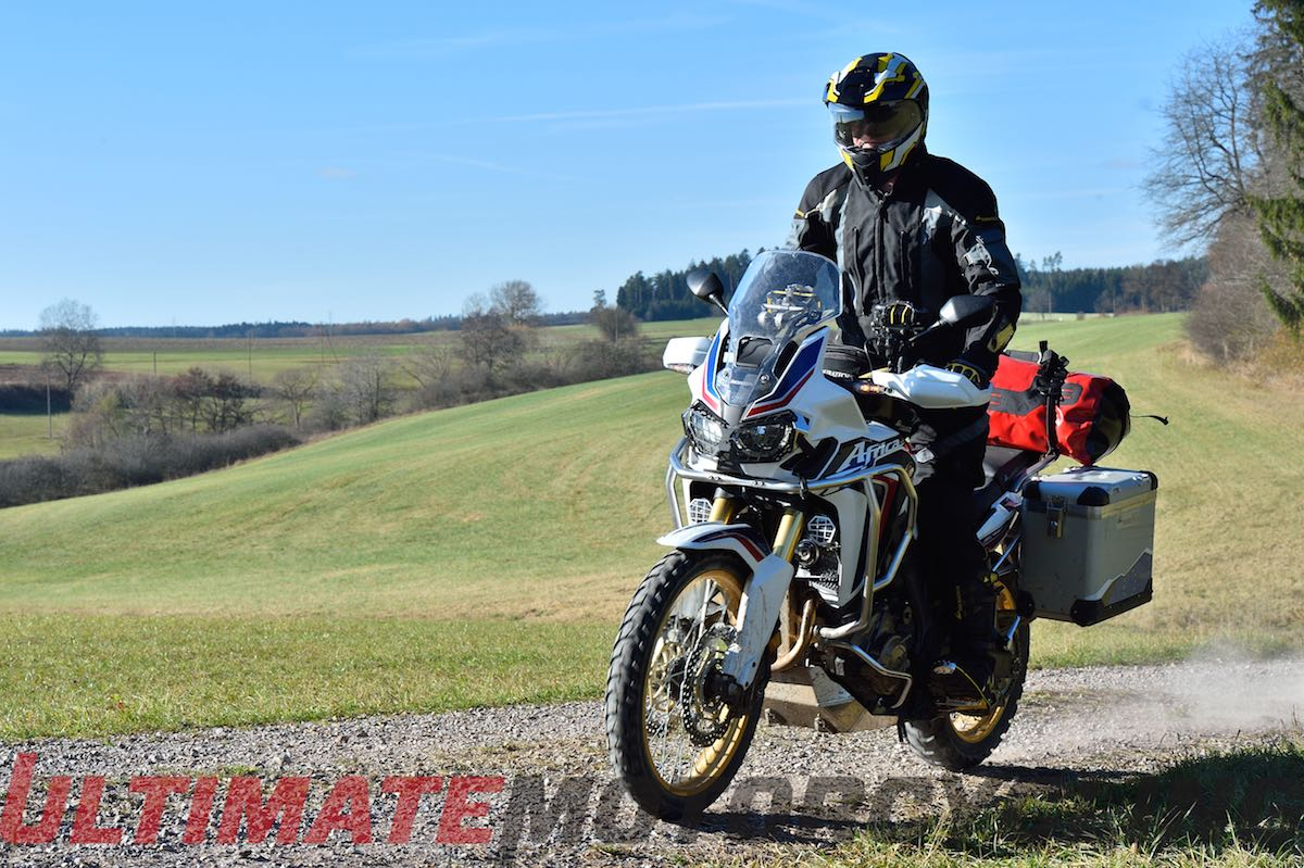 Honda Africa Twin First Ride Video Review with Touratech-USA
