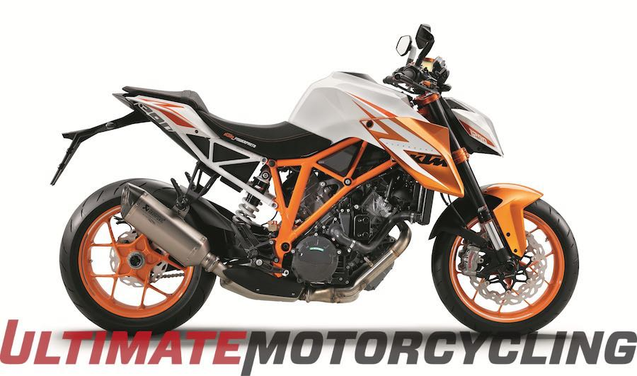 Top 30 Motorcycles To Ride In 2016 | Editor's Choice KTM Super Duke R SE