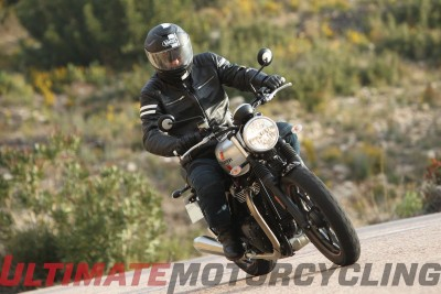 2016 Triumph Street Twin Test