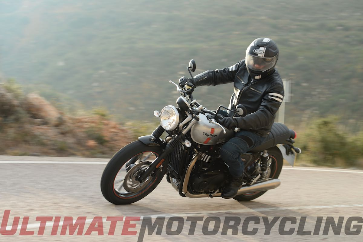 2016 Triumph Street Twin 900 Ht Test Review