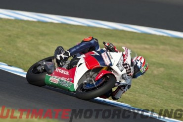 Nicky Hayden Half-Second Off Pace at Australia SBK Test