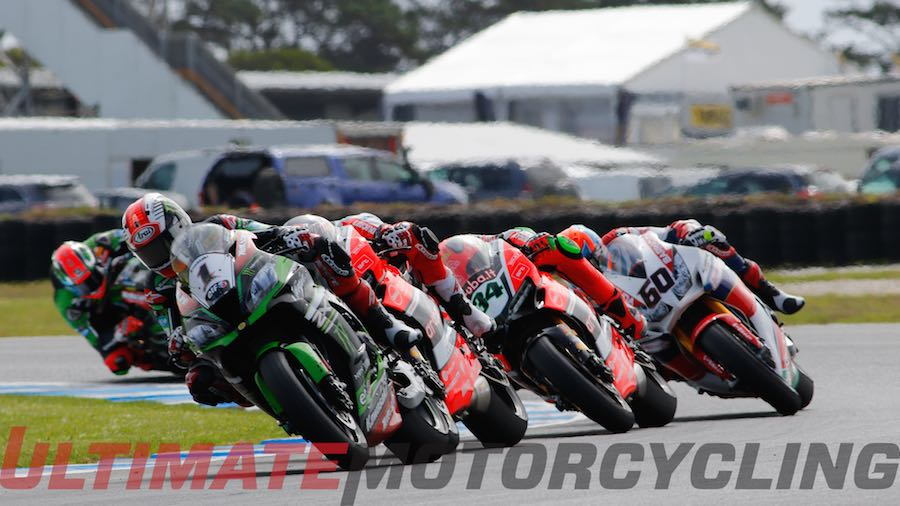 Jonathan Rea Wins Phillip Island World Superbike Race 1 2016