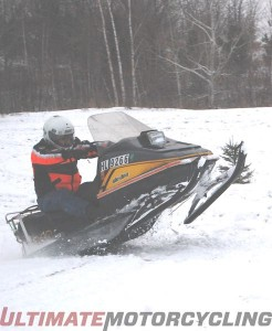 Snow motorcycle no how
