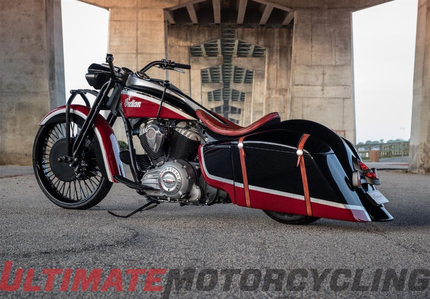 Indian Springfield Frontier 111 Unveiled | Azzkikr Custom Bagger