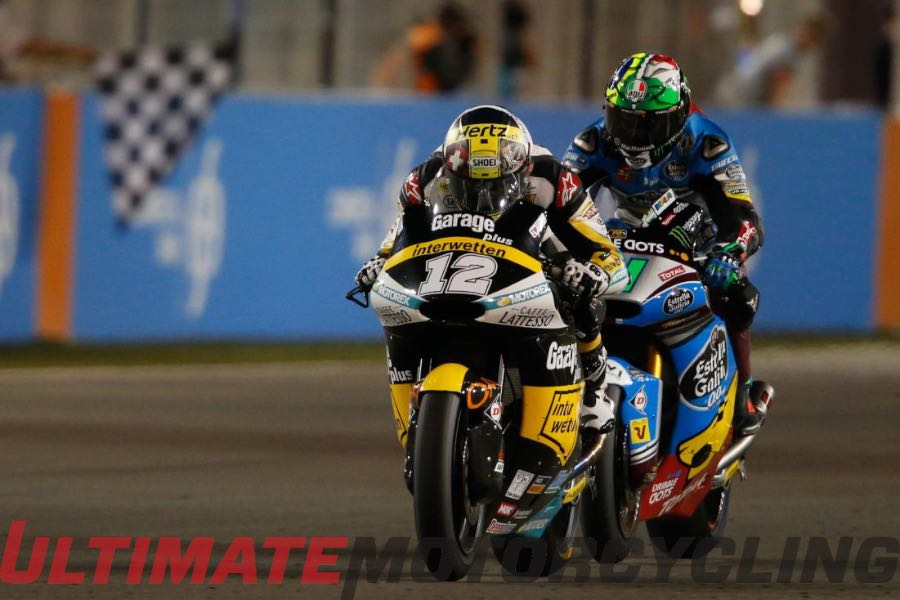 2016 Qatar Moto2 Results | Jumped Starts and Crashes