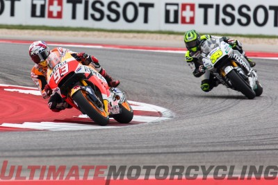 Race action MotoGp 2016 Austin MotoGP Photo Gallery | Exclusive COTA Wallpaper