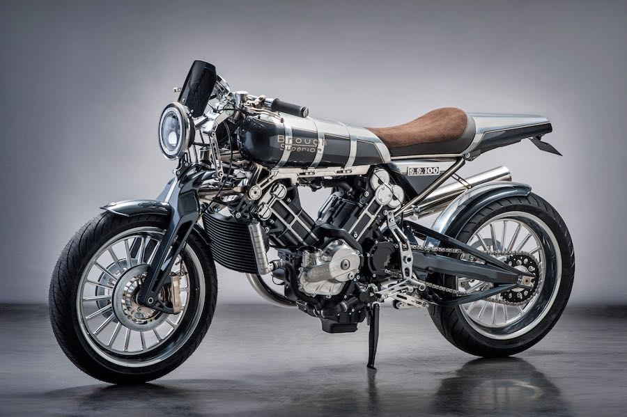 Brough Superior SS100 - Modern with Spirit of the Marque