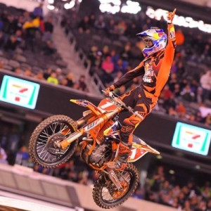 2016 E. Rutherford Supercross Results - Ryan Dungey