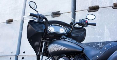 2016 Indian Chieftain Dark Horse Unveiled guages