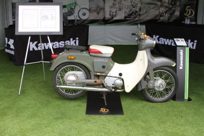 Kawasaki 1964 M5 Pet scooter