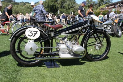 Category-Winning BMW vintage motorcycle