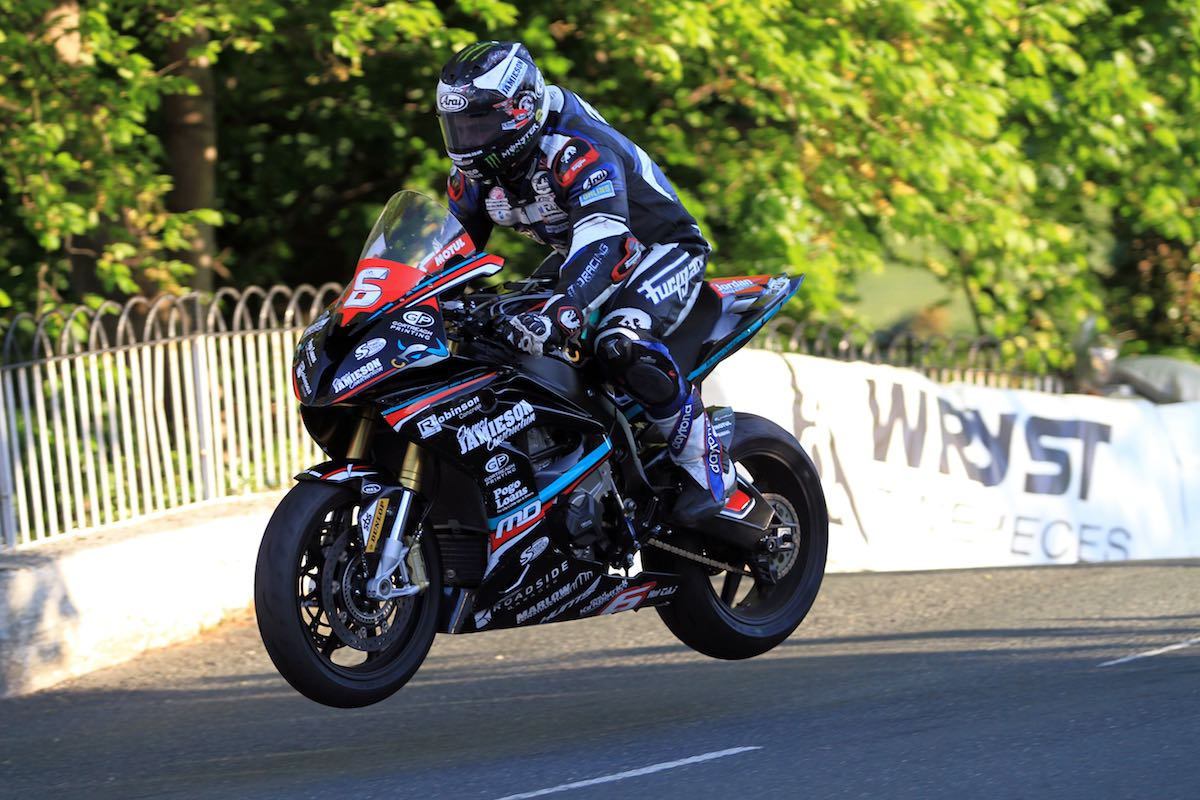 BMW's Michael Dunlop Breaks 131mph | Isle of Man TT Wednesday Qualifying