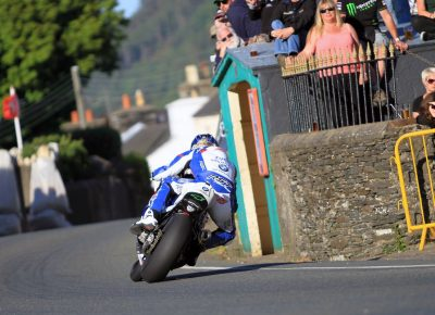 BMW Ian Hutchinson TT Qualifying Wednesday 2016