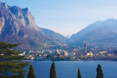 Villages around Lake Como