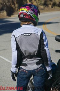 Fly Racing Flux Air Mesh Jacket Review - back