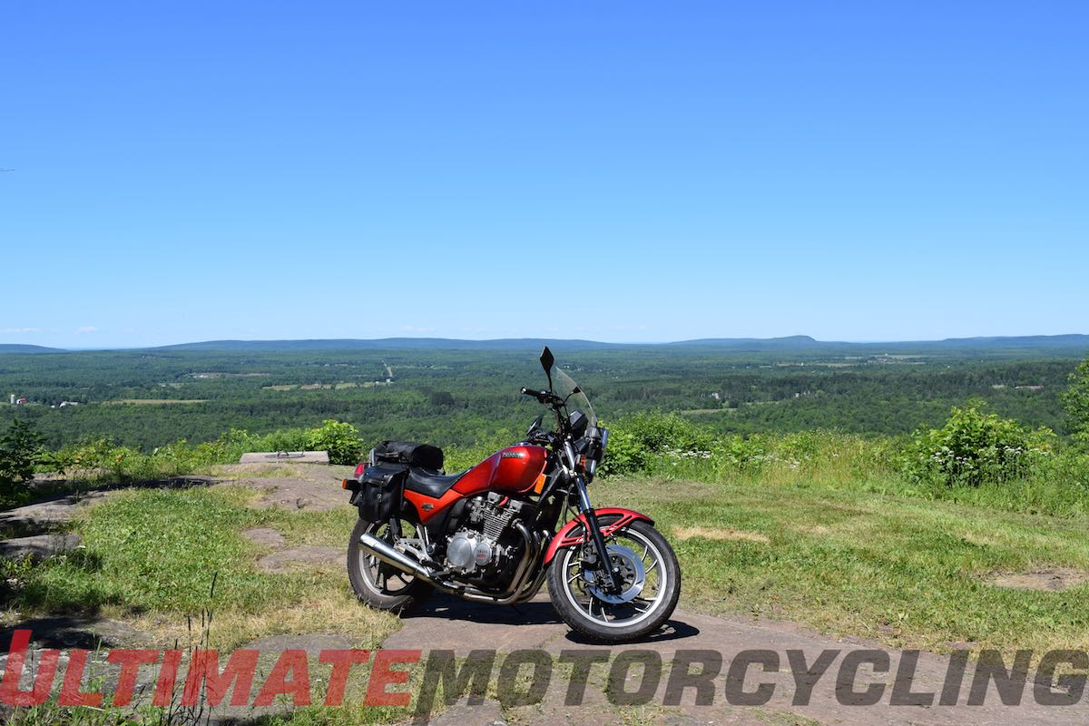 Mt. Zion in Michigan motorcycle touring
