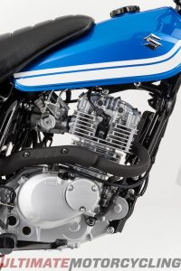2017 Suzuki VanVan 200 right engine