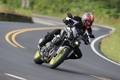 2017 Yamaha FZ-10 Action