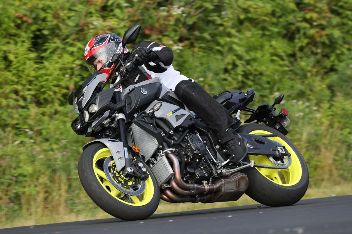 Motorcycle Safety Gear >> 2017 Yamaha FZ-10 First Ride Review | 14 Fast Facts