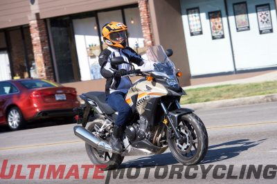 2016 Honda CB500X Test - Commuter