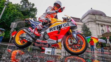 Honda's Marquez Leads Riders Through Wet Graz for MotoGP's Return to Austria