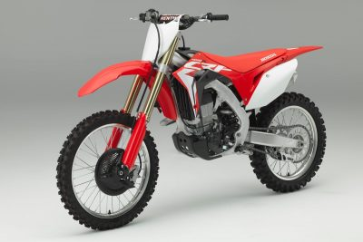2017 Honda CRF450R - front left - price