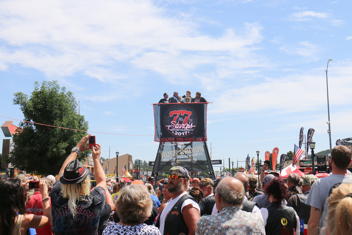 77th Sturgis Motorcycle Rally Rally Unveiled