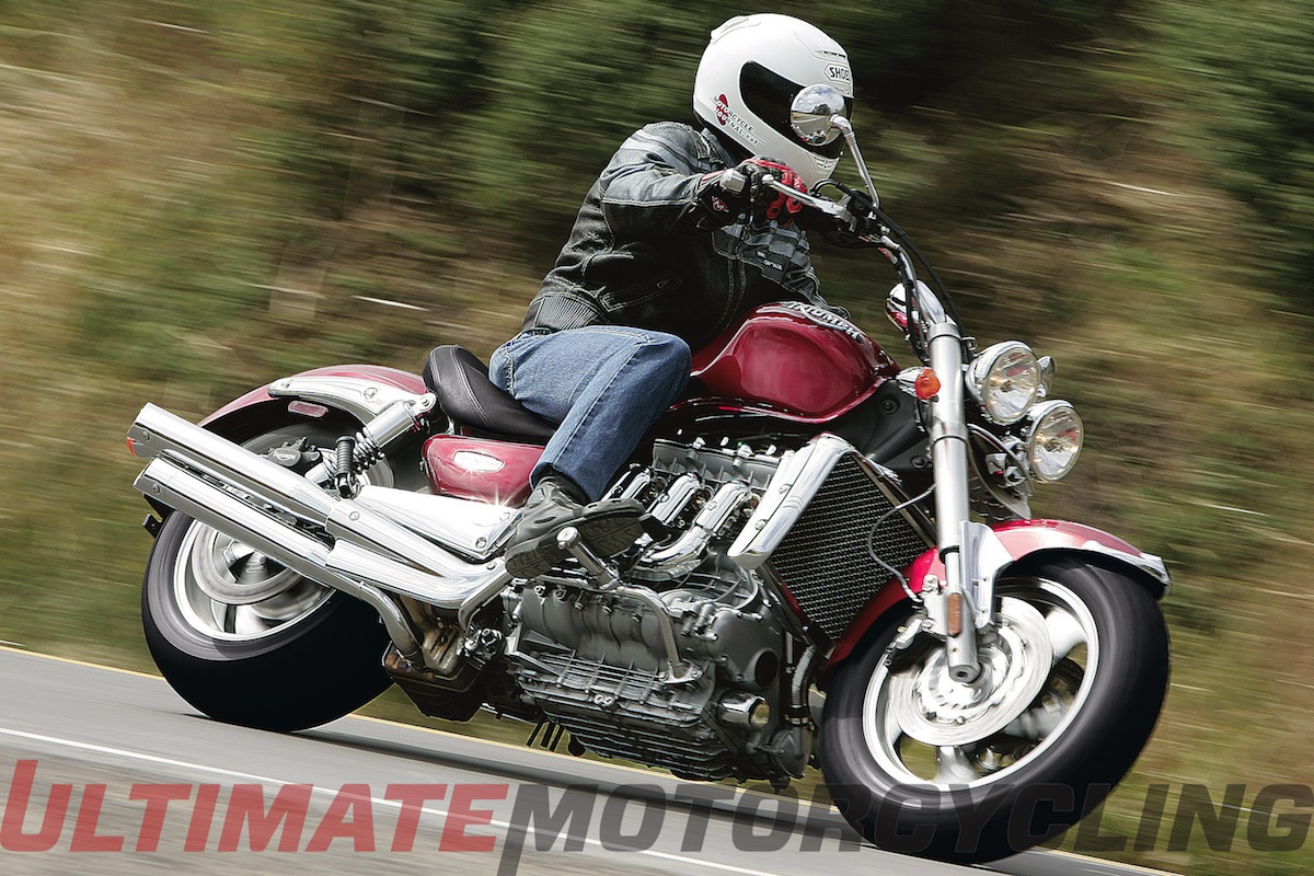 2005 Triumph Rocket III top speed