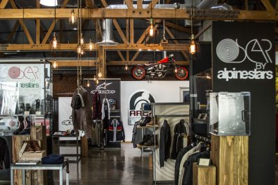 Arch Motorcycles for Alpinestars event