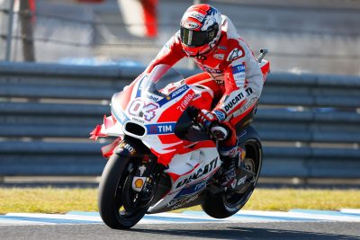 Ducati Team's Andrea Dovizioso at Motegi MotoGP