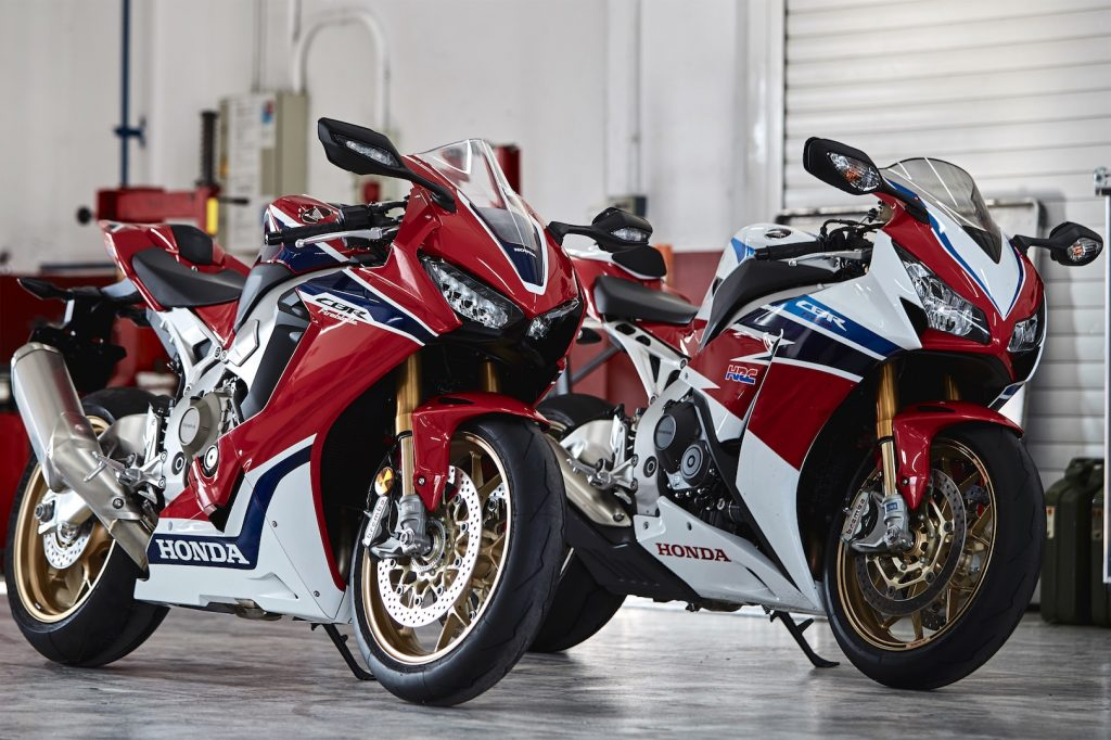 2017 Honda CBR100RR SP and SP2 Preview -
