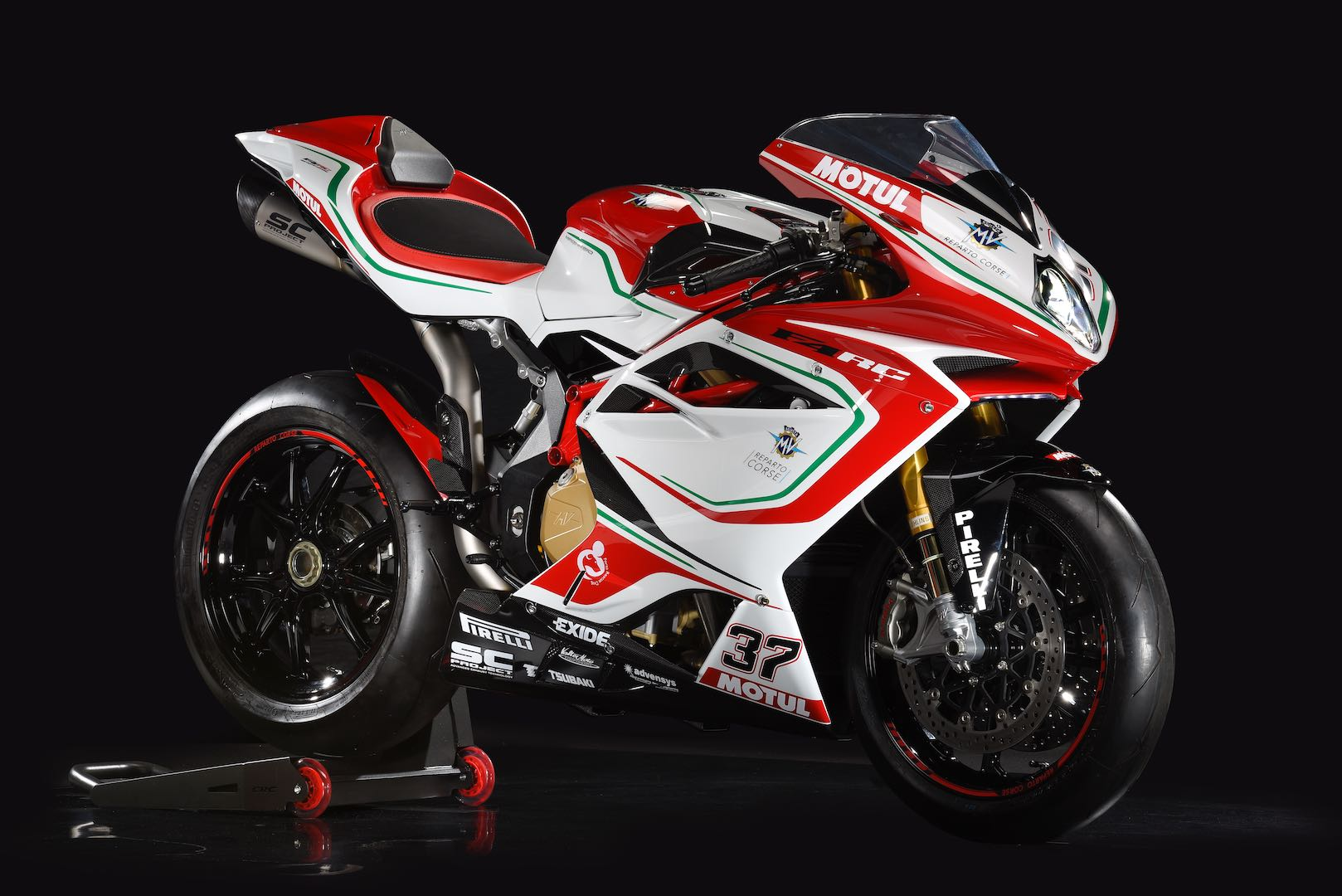 Updated MV Agusta F4 RC